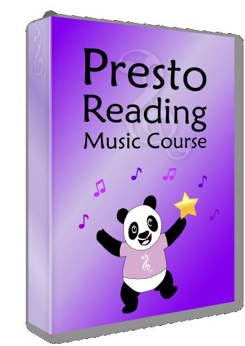 Presto Reading Music Course